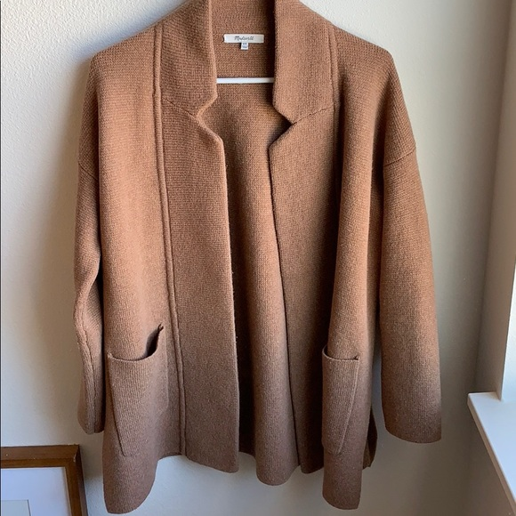 Madewell Sweaters Spencer Sweater Coat Poshmark